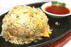 Nasi Goreng Ayam Hot Plate